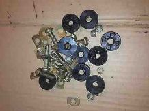 peugeot 205 1.6 1.9 gti xs xe mi16 all 205's sull set of seat bolts and spacers